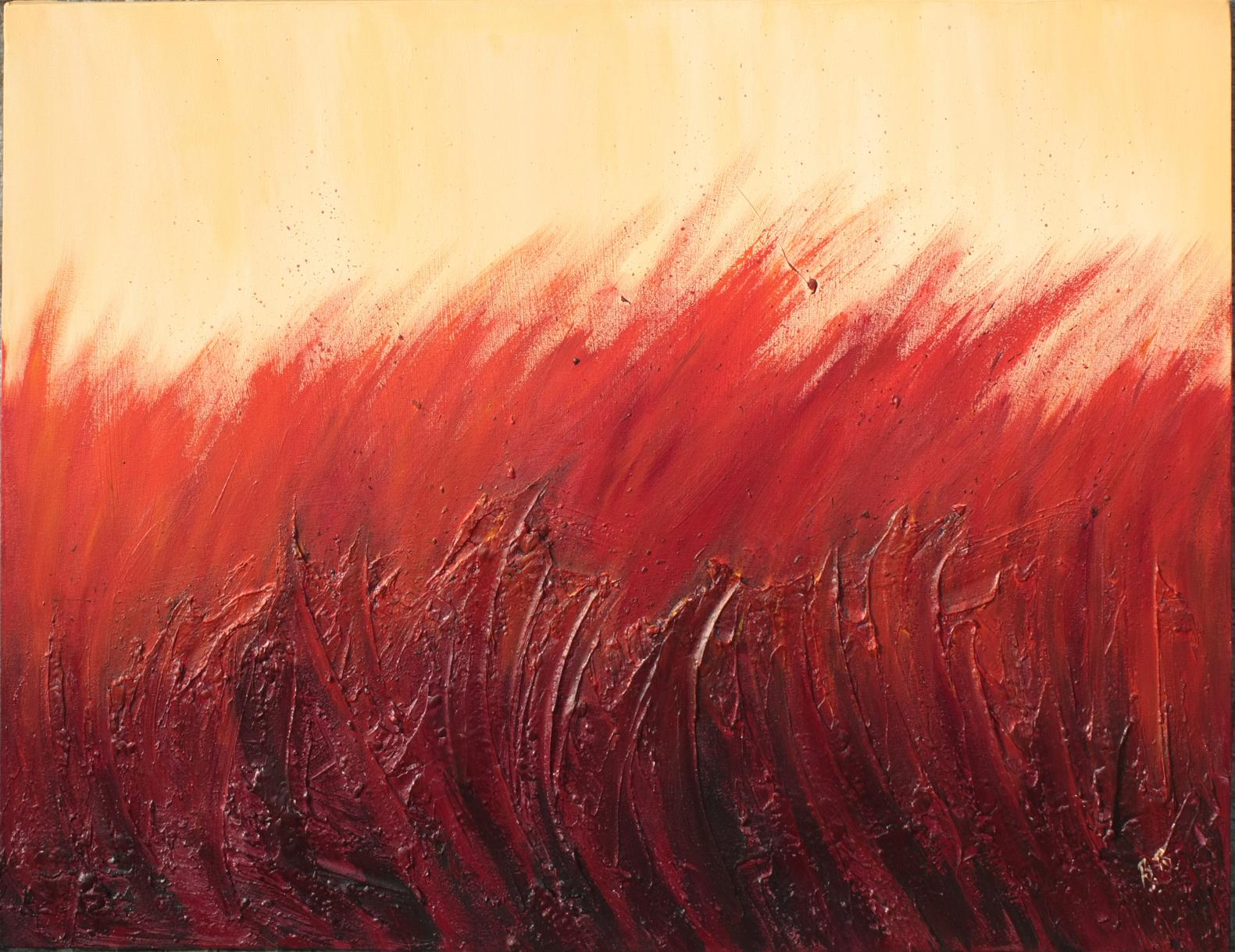 Fire (mixed medium)